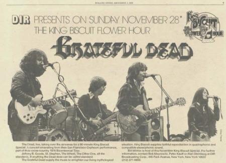 Grateful Dead Orpheum 18 7 1976