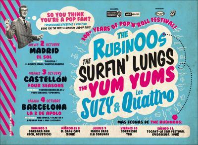 Cartel Suzy y Rubinoos