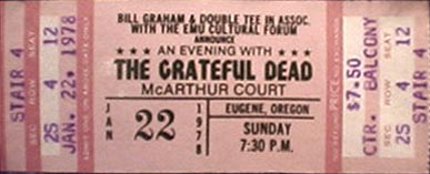 1 22 1978 ticket