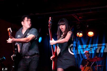 Autoramas concierto Gruta 77 entrevista en Shakin' Street Blog para el podcast ¿Cuál es tu rollo? con Olivia LH