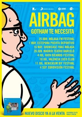 airbag gira conciertos