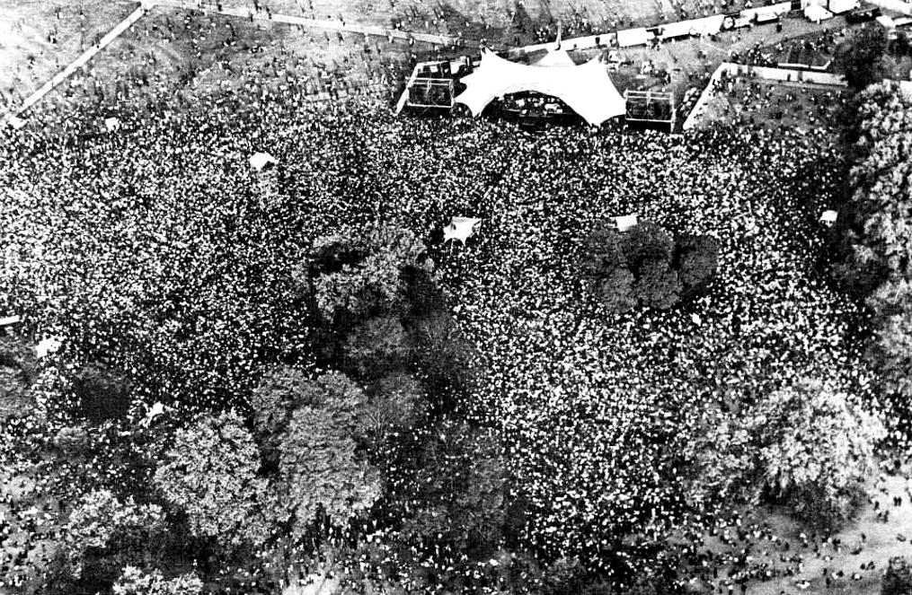queen hyde park 1976