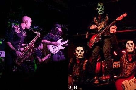 Concierto Durango 14 y Los Tiki Phantoms en Gruta 77