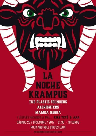 cartel la noche krampus león